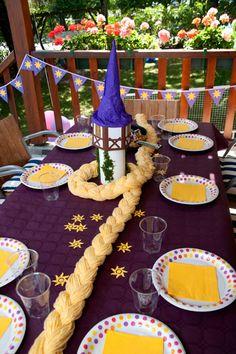 ideias de decoração rapunzel