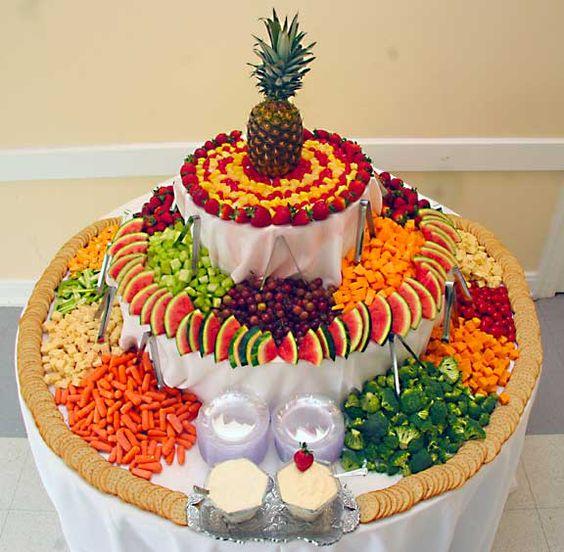 ideias servir fruta casamento 5