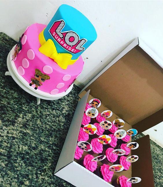 modelos bolos bonecas lol 10