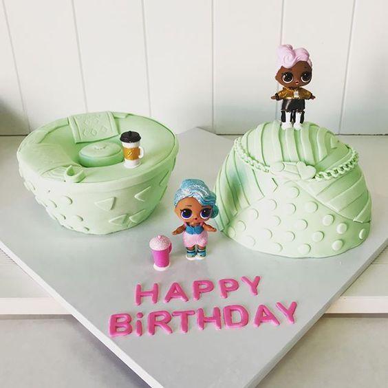 modelos bolos bonecas lol 9
