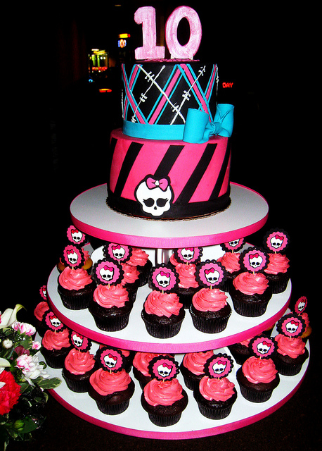 monster high bolos