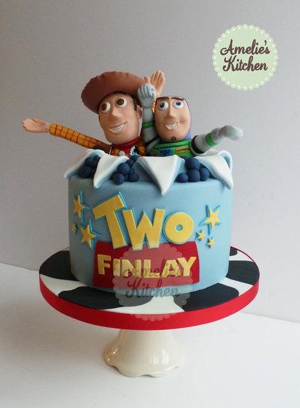 toy story bolo decorado